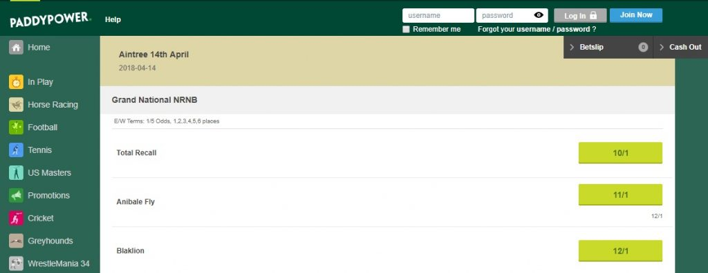 Bookies Offering 6 Each-Way Places On Grand National