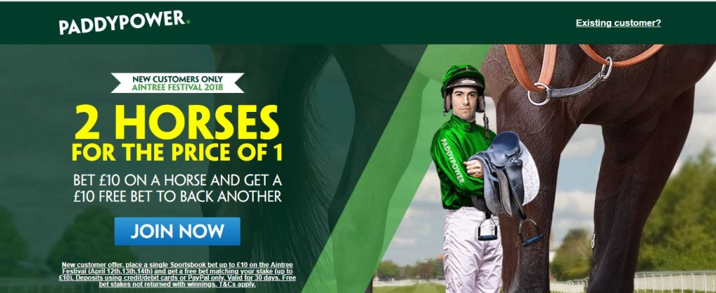 Paddy Power Grand National Offer