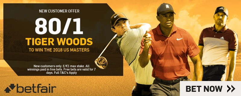 Betfair Tiger Woods Betfair Promo
