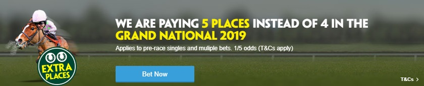 Paddy Power 5 Each Way Places Grand National